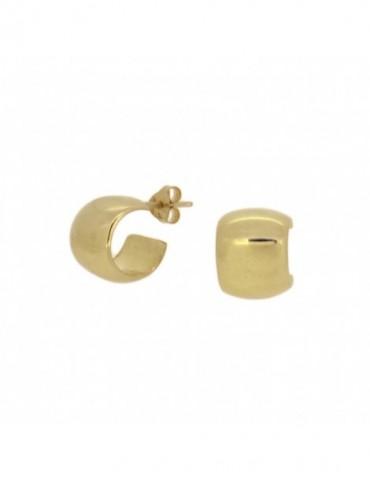 PE371 - Pendientes plata 925 y plata 925 bañada en oro