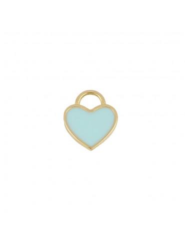 CHARM HEART BLUE
