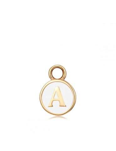 CHARM INICIALE WHITE